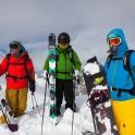 Arkhyz / Riders: Kirill Anisimov, Alexandr Baidaev, Egor Druzhinin / Photo: Konstantin Galat
