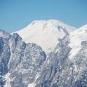 Вид на Эльбрус из Сванетии. Фото: В. Сорокина