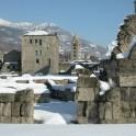 Руины римского театра. Аоста.