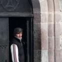 Novice at St. Georgiy church. Photo: D. Pudenko