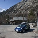 Not much traffic here in Courmaeur. Photo: D. Pudenko