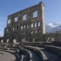 Roman theatre in Aosta.  Photo D. Pudenko