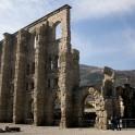 Ruins of Roman theatre in Aosta.  Photo D. Pudenko