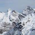 Peaks around Monte Rosa massive. Photo: K. Galat