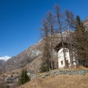 Medieval mountain church in Upper Lys valley. Photo: K. Galat