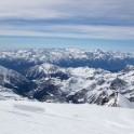 Valle D'Aosta and Upper Lys valley - from Monte Rosa massive. Photo: K. Galat