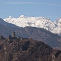 One of many Valle D'Aosta castles. Photo: O. Kolmovsky