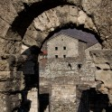 Roman theatre ruins in Aosta. Photo: O. Kolmovsky