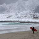 Surf spot at Lofoten islands. Photo: N. Lapina