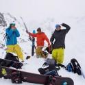 Egor Druzhinin, Kirill Anisimov, Peter Yastrebkov. Lofoten islands. Photo: N. Lapina