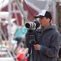 RTP cameraman - Oleg Kolmovskiy. Lofotens. Photo: Natalia Lapina