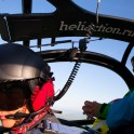 Heliaction pilot - Alexander Davidov. Caucasus. Photo: K. Galat.