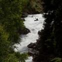 Gonachkhir river, Dombay. Rider: E.Voskoboinikov. Photo: K. Galat.