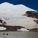 Glacier lake at mt. Elbrus. Photo: K.Galat