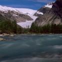 Nigardsbreen glacial stream, Norway