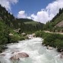 Kyrgizstan, Chon-Ak-Suu river.