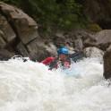 Tceidon river. Nothern Osetia. Rider: Ivan Ribnikov. Photo: A.Buslaeva