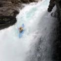 Alexey Lukin. Nosebreaker waterfall. Photo: D. Pudenko