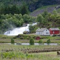 Kardalfossen, Flåm. Photo: D. Pudenko