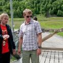 Ivan Ribnikov & Alexey Lukin, Kardalfossen waterfall. Flåm. Photo: D. Pudenko