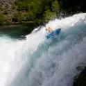 Rider: Alexey Lukin. Kardalfossen waterfall. Flåm. Photo: D. Pudenko