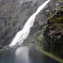 Trollstigen road and Stigfossen waterfall. Photo: D. Pudenko