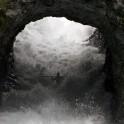 """Alexey Lukin. """"Tunnel drop"""", Voss region. Photo: O. Lyakhova"""