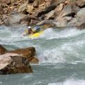 Kyrgizia, Kekemeren river. Kayaker - Alexey Lukin. Photo: K.Galat