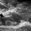 Kyrgizia, Kekemeren river. Kayaker - Vania Rybnikov. Photo: K.Galat
