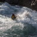 Kyrgizia, Chon-Kemin river. Kayaker - Alexey Lukin. Photo: K.Galat