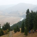 Kyrgizia, Bolshoy Naryn valley. Trekking to put-in point. Photo: Konstantin Galat