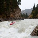 Kyrgizia, Bolshoy Naryn river. Kayaker: Dmitriy Danilov. Photo: Konstantin Galat