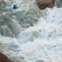 Kyrgizia, Maliy Naryn river. Kayakers: Dmitriy Danilov & Vania Rybnikov. Photo: Konstantin Galat