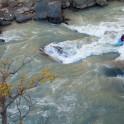 Kyrgizia, Maliy Naryn river. Kayaker: Vania Rybnikov. Photo: Konstantin Galat
