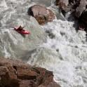 Kyrgizia, Maliy Naryn river. Kayaker - Dmitriy Danilov. Photo: Oleg Kolmovskiy