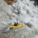 Kyrgizia, Maliy Naryn river. Kayaker - Alexei Lukin. Photo: Oleg Kolmovskiy