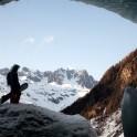 Montblanc, Valle d'Aosta, Italy. Rider: Konstantin Galat. Photo: Oleg Kolmovskiy
