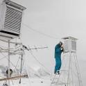 Elbrus Region, Mt.Cheget meteostation (3050m). Konstantin Galat. Photo: O.Kolmovsky