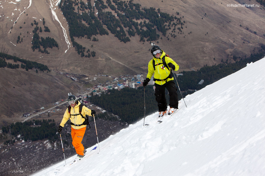 Elbrus region. Riders: Kirill Anisimov and Alexander Baidaev. Photo: Vitaliy Mihailov
