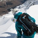 Elbrus Region, Cheget Massive. Konstantin Galat on start. Photo: V.Mihailov