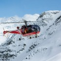 Elbrus Region. Helicopter Alouette. Cameramen - Alexey Orlov. Photo: V.Mihailov