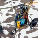 Elbrus Region. Helicopter LAMA. Pilot: Alexander Davydov. Photo: V.Mihailov