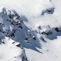 Elbrus Region, Massive Kogutay. Rider: Egor Druzhinin. Photo: V.Mihailov