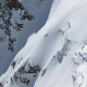 Elbrus Region, Medvezhiy glacier. Rider: Kirill Anisimov. Photo: V.Mihailov