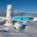 Khibiny. Rasvumchor meteo and avalanche resque station. Photo: Konstantin Galat