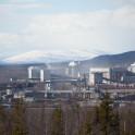 Khibiny, Apatity town region. Mining plant. Photo: Konstantin Galat