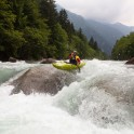 Nothern Italy, Valsesia valley. Sesia river. Rider: Egor Voskoboynikov. Photo: Konstantin Galat
