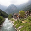 Nothern Italy, Valsesia valley. Sesia river. Photo: Konstantin Galat