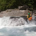 Nothern Italy, Valsesia valley. Egua river. Rider: Alexey Lukin. Photo: Konstantin Galat