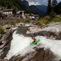 Nothern Italy, Valsesia valley. Sorba river. Rider: Vania Rybnikov. Photo: Konstantin Galat